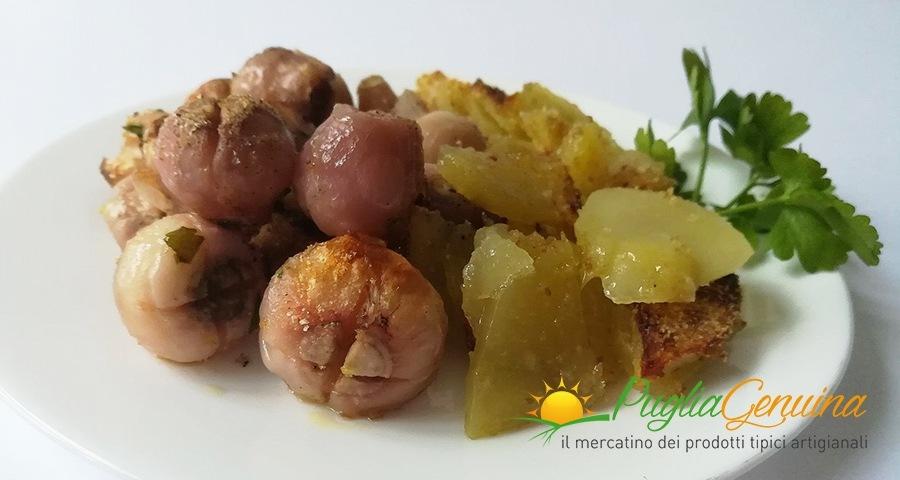 Lampascioni gratinati con patate