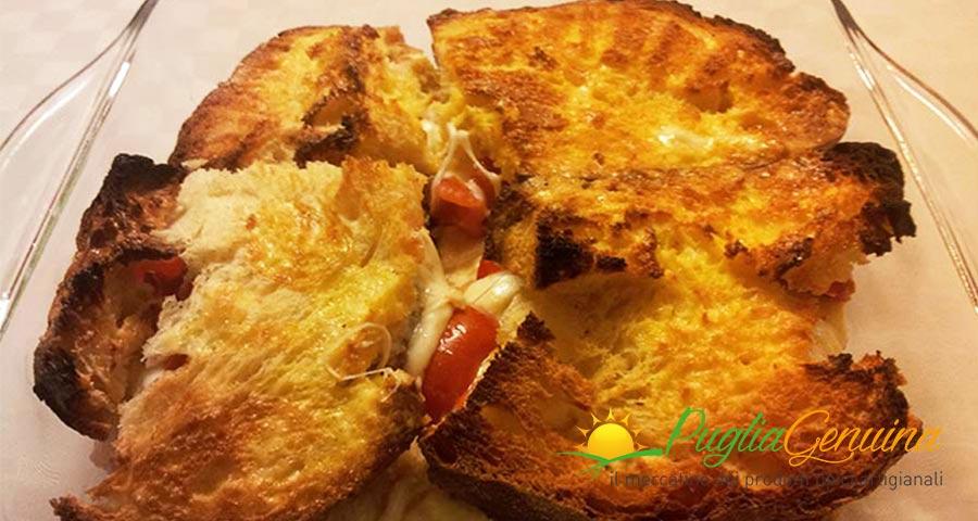 Pane di Altamura in carrozza