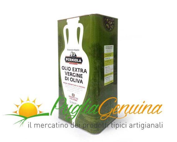 Olio extravergine di oliva pugliese
