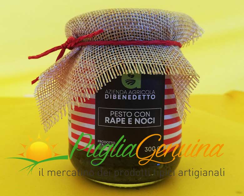 Pesto rape e noci