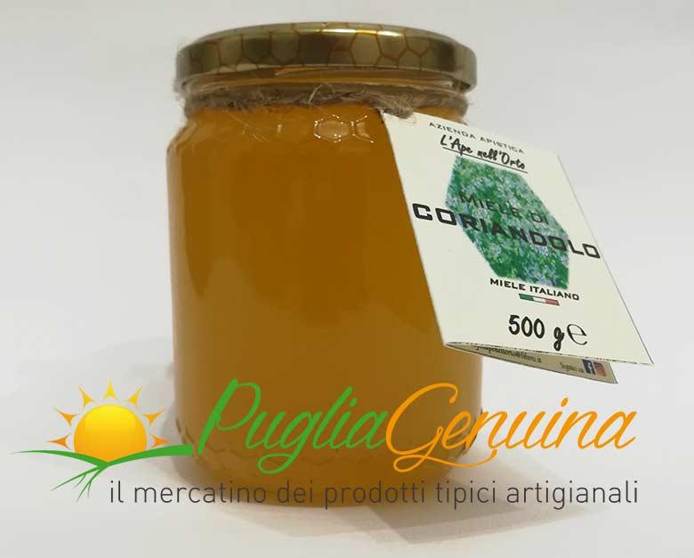 Miele di coriandolo